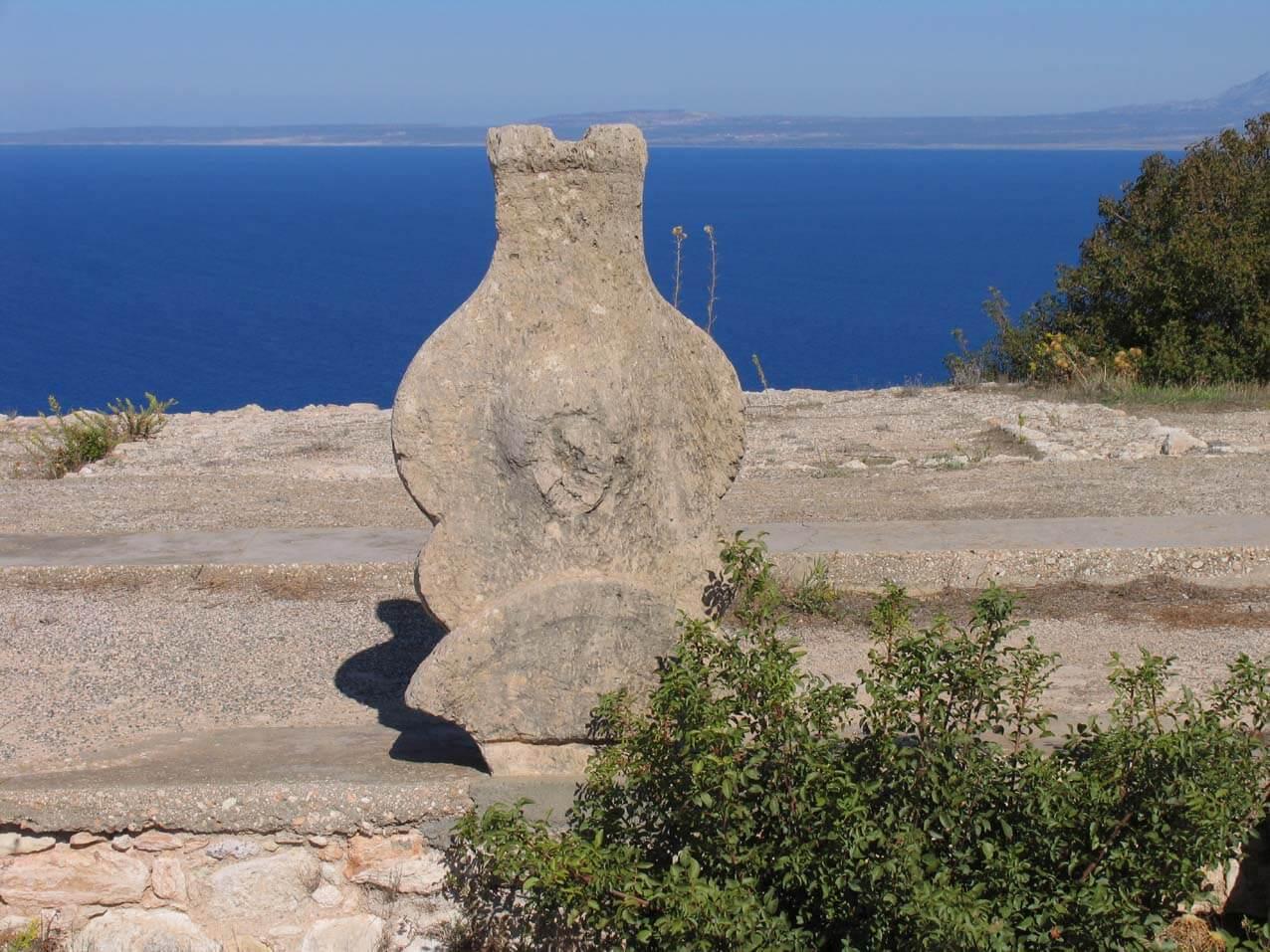 Ancient castle Vouni. Northern Cyprus.