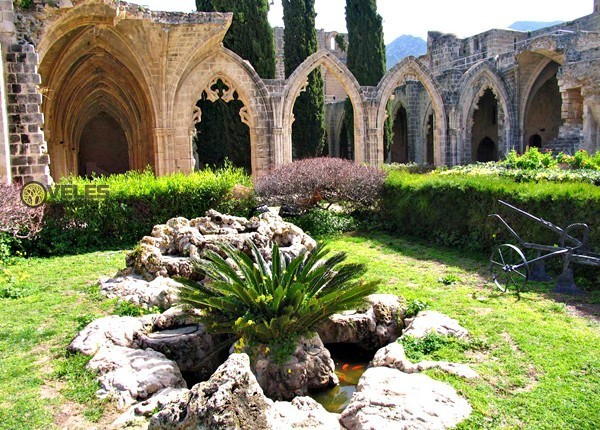 Bellapais Abbey. Northern Cyprus.