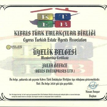 Veles Property License