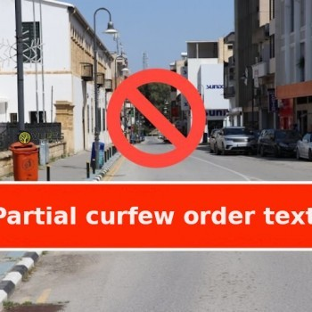 partial curfew order text