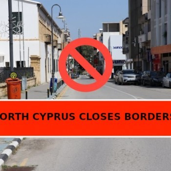 north cyprus closes borders, veles