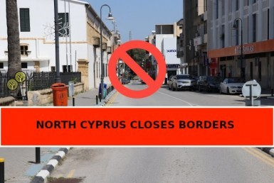 north cyprus closes borders, veles