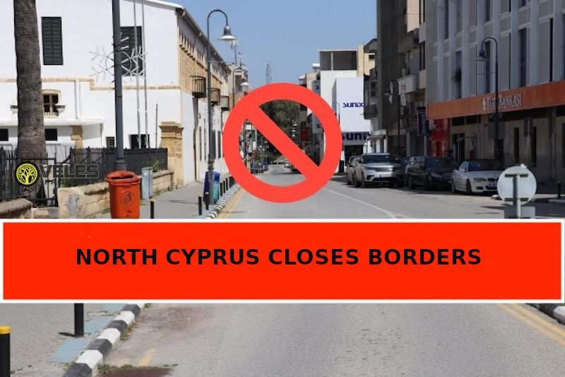 North Cyprus closes borders