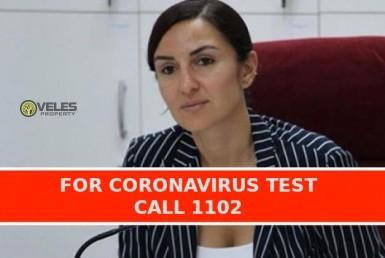 coronavirus test, veles