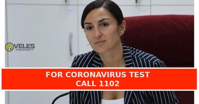 Line to call 1102 for coronavirus test