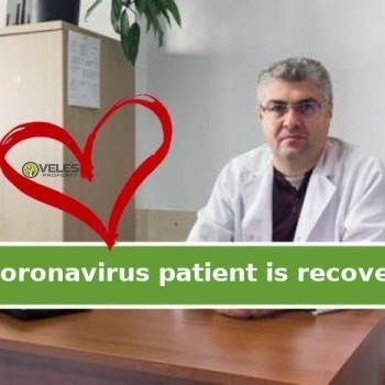 Coronavirus patient is recovering