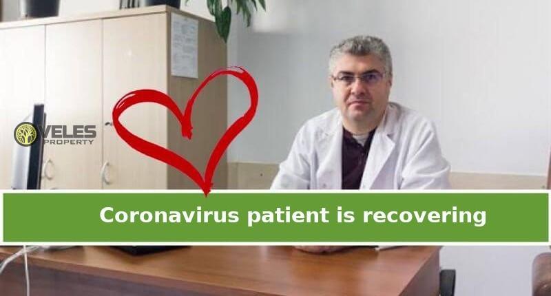 Coronavirus patient is recovering