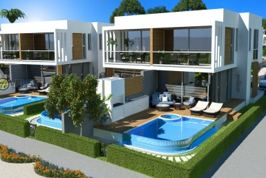 SV-329 LUXURY TWO-STOREY DUPLEX-VILLA