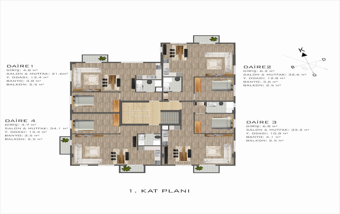 SA-147 BUY INEXPENSIVE APARTMENT IN THE CENTER