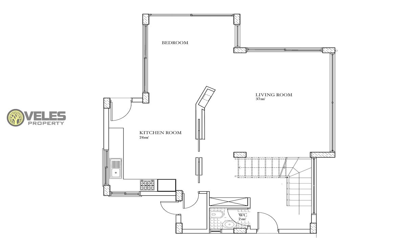 SV-350 THREE BEDROOM VILLA IN NEW COMPLEX