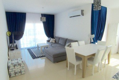 SA-216 TWO BEDROOM APARTMENT IN ALSANCAK DISTRICT