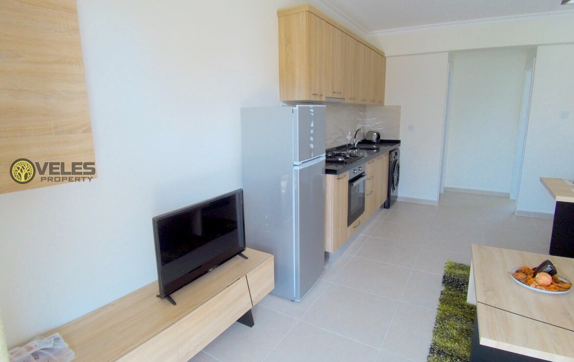 SA-139 APARTMENT 1 + 1 IN AN EXCELLENT COMPLEX BY THE SEA