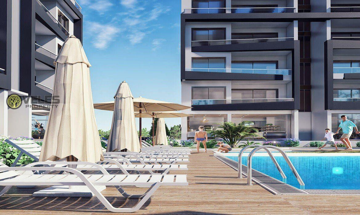SA-2118 CHEAP 3 BEDROOM APARTMENT IN NORTHERN CYPRUS