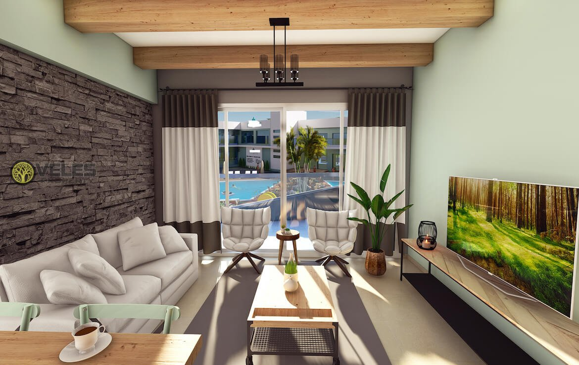 SA-214 TWO BEDROOM APARTMENT IN NEW PROJECT