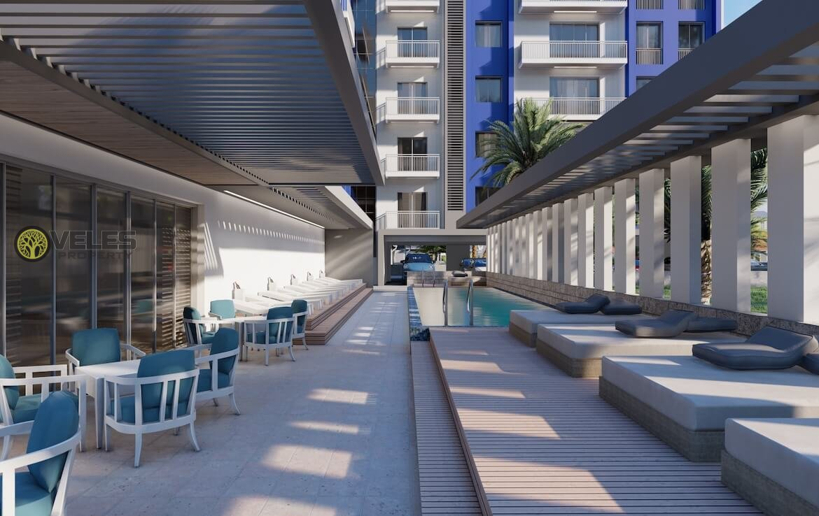 SA-2148 TWO BEDROOM APARTMENT BY THE SEA