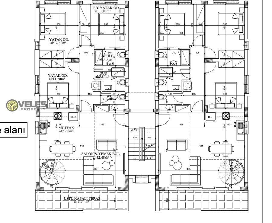 SA-382 THREE BEDROOM APARTMENT LOFT PROJECT