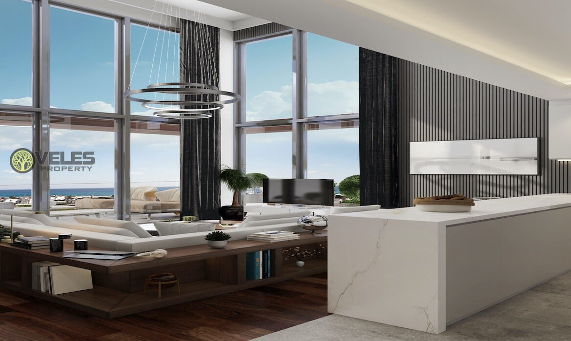 2 + 1 APARTMENT-LOFT IN NEW PROJECT