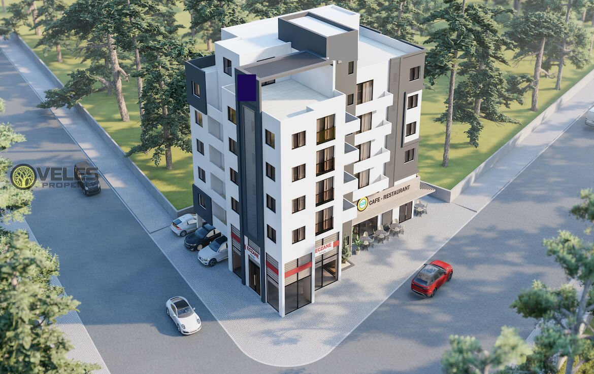 SA-2151 NEW TWO BEDROOM APARTMENT IN FAMAGUSTA