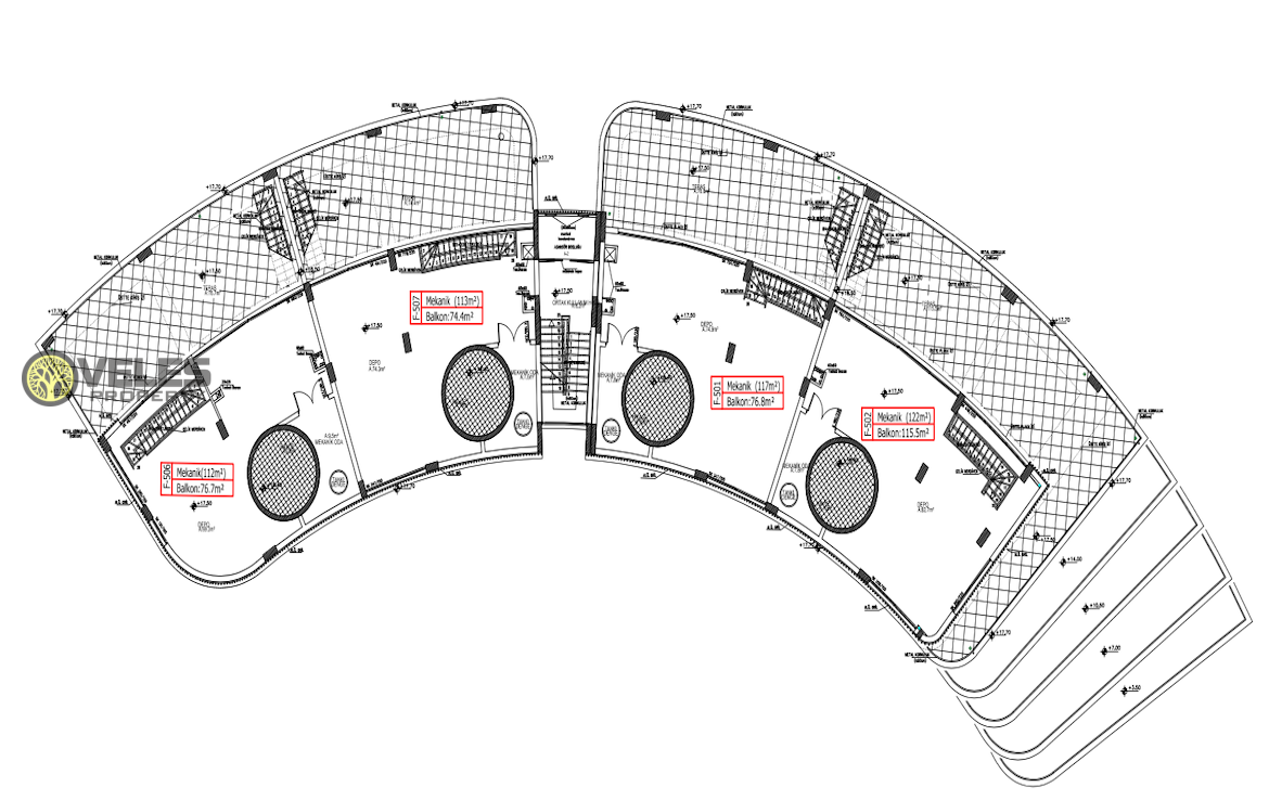 SA-360 NEW LAYOUT PENTHOUSE IN THE CENTER