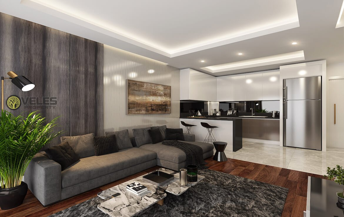 SA-171 1+1 APARTMENT IN A NEW PROJECT,veles