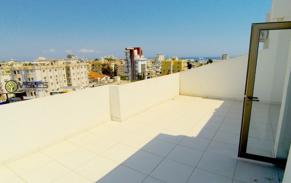 SA-167 PENTHOUSE WITH SEA VIEW IN FAMAGUSTA, veles