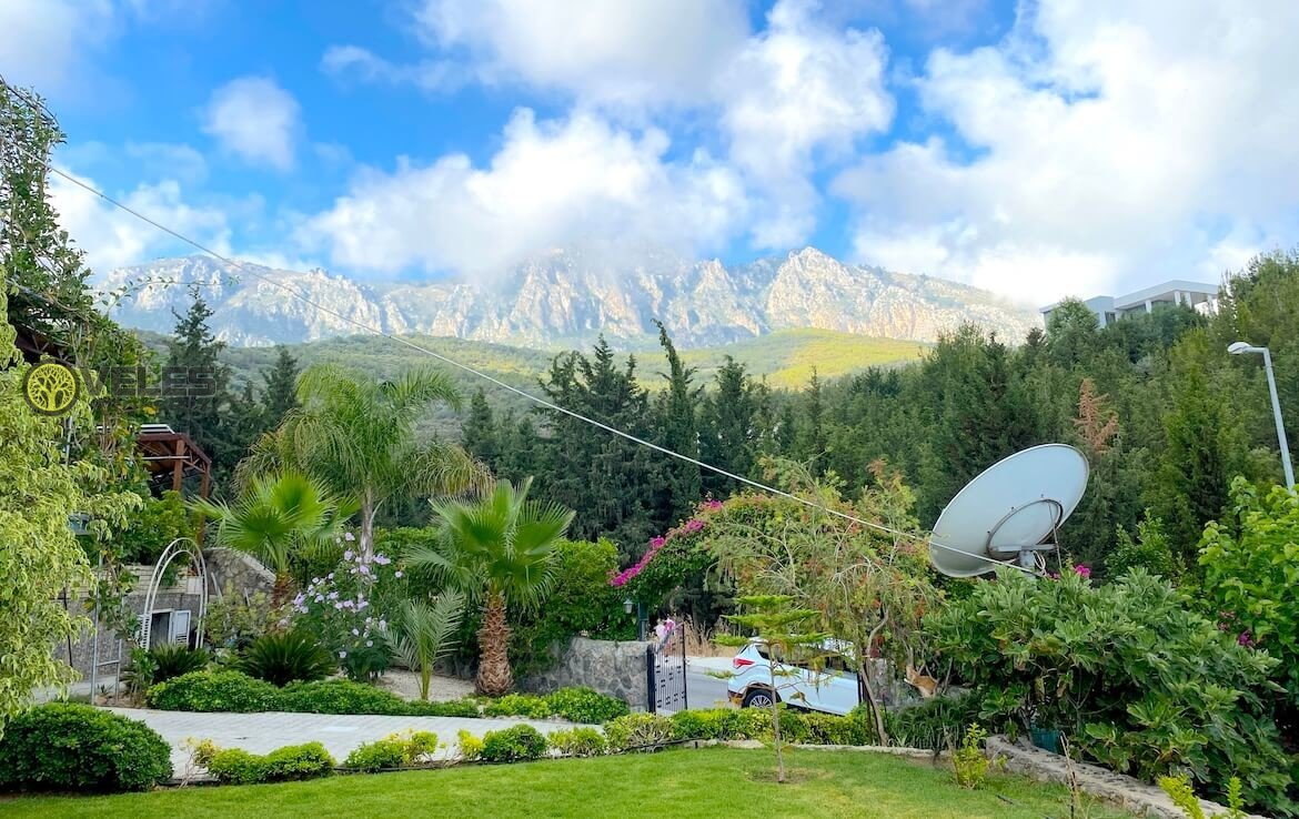 SV-404 Eco-friendly and equipped villa in North Cyprus