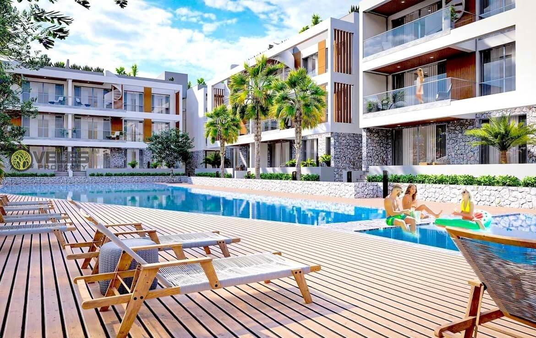 SA-2109 2 + 1 Apartments near British College, Veles