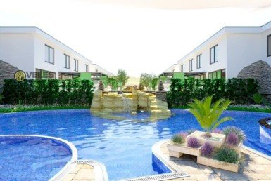 ST-206 Townhouse in a complex by the sea and golf course
